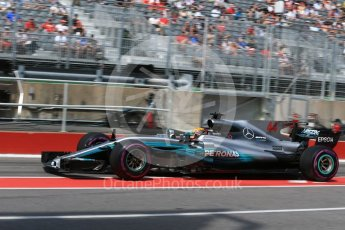 World © Octane Photographic Ltd. Formula 1 - Canadian Grand Prix - Saturday - Practice 3. Lewis Hamilton - Mercedes AMG Petronas F1 W08 EQ Energy+. Circuit Gilles Villeneuve, Montreal, Canada. Saturday 10th June 2017. Digital Ref: 1853LB2D2936