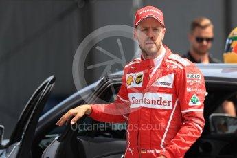 World © Octane Photographic Ltd. Formula 1 - Canadian Grand Prix - Saturday - Qualifying. Sebastian Vettel - Scuderia Ferrari SF70H. Circuit Gilles Villeneuve, Montreal, Canada. Saturday 10th June 2017. Digital Ref: 1854LB1D6896