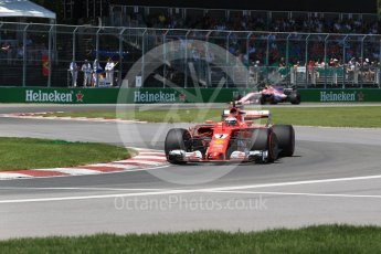 World © Octane Photographic Ltd. Formula 1 - Canadian Grand Prix - Saturday - Qualifying. Kimi Raikkonen - Scuderia Ferrari SF70H. Circuit Gilles Villeneuve, Montreal, Canada. Saturday 10th June 2017. Digital Ref: 1854LB2D2970