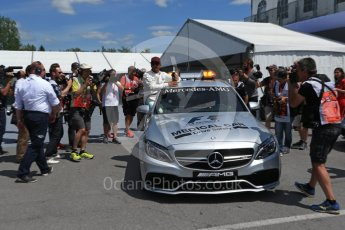 World © Octane Photographic Ltd. Formula 1 - Canadian Grand Prix - Saturday - Qualifying. Lewis Hamilton - Mercedes AMG Petronas F1 W08 EQ Energy+. Circuit Gilles Villeneuve, Montreal, Canada. Saturday 10th June 2017. Digital Ref: 1854LB2D3157