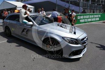 World © Octane Photographic Ltd. Formula 1 - Canadian Grand Prix - Saturday - Qualifying. Lewis Hamilton - Mercedes AMG Petronas F1 W08 EQ Energy+. Circuit Gilles Villeneuve, Montreal, Canada. Saturday 10th June 2017. Digital Ref: 1854LB2D3162