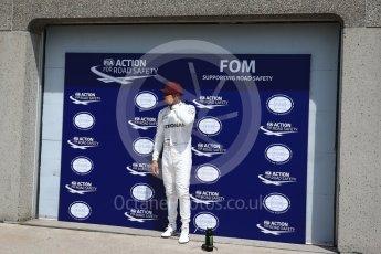 World © Octane Photographic Ltd. Formula 1 - Canadian Grand Prix - Saturday - Qualifying. Lewis Hamilton - Mercedes AMG Petronas F1 W08 EQ Energy+. Circuit Gilles Villeneuve, Montreal, Canada. Saturday 10th June 2017. Digital Ref: 1854LB2D3192
