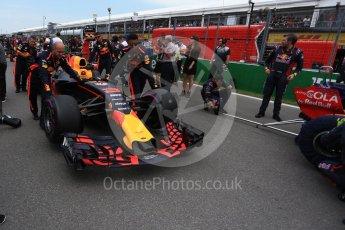 World © Octane Photographic Ltd. Formula 1 - Canadian Grand Prix - Sunday Drivers Parade & Grid. Daniel Ricciardo - Red Bull Racing RB13. Circuit Gilles Villeneuve, Montreal, Canada. Sunday 11th June 2017. Digital Ref: 1856LB2D3451