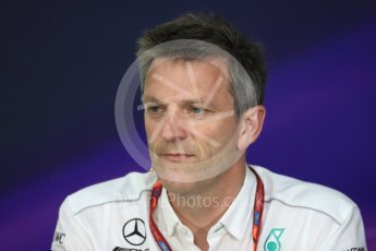 World © Octane Photographic Ltd. Formula 1 - Canadian Grand Prix - Friday FIA Team Personnel Press Conference. James Allison - Technical Director of Mercedes-AMG Petronas Motorsport. Circuit Gilles Villeneuve, Montreal, Canada. Friday 9th June 2017. Digital Ref: 1852LB1D4363