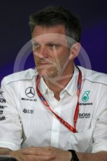 World © Octane Photographic Ltd. Formula 1 - Canadian Grand Prix - Friday FIA Team Personnel Press Conference. James Allison - Technical Director of Mercedes-AMG Petronas Motorsport. Circuit Gilles Villeneuve, Montreal, Canada. Friday 9th June 2017. Digital Ref: 1852LB1D4373