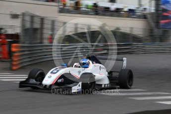 World © Octane Photographic Ltd. Formula 1 - Monaco Formula Renault Eurocup Practice. Will Palmer – R-ace GP. Monaco, Monte Carlo. Thursday 25th May 2017. Digital Ref: