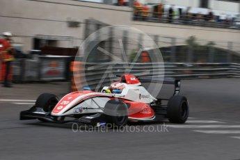 World © Octane Photographic Ltd. Formula 1 - Monaco Formula Renault Eurocup Practice. Najiy Razak – Fortec Motorsports. Monaco, Monte Carlo. Thursday 25th May 2017. Digital Ref: