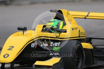 World © Octane Photographic Ltd. Formula 1 - Monaco Formula Renault Eurocup Practice. Luis Leeds - Josef Kaufmann Racing. Monaco, Monte Carlo. Thursday 25th May 2017. Digital Ref: