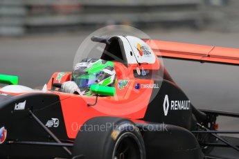 World © Octane Photographic Ltd. Formula 1 - Monaco Formula Renault Eurocup Practice. Thomas Maxwell – Tech 1 Racing. Monaco, Monte Carlo. Thursday 25th May 2017. Digital Ref: