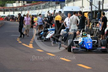 World © Octane Photographic Ltd. Formula 1 - Monaco Formula Renault Eurocup Qualifying. Robert Shwartzman – R-ace GP. Monaco, Monte Carlo. Friday 26th May 2017. Digital Ref: