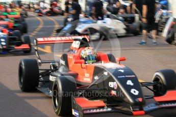 World © Octane Photographic Ltd. Formula 1 - Monaco Formula Renault Eurocup Qualifying. Gabriel Aubry – Tech 1 Racing. Monaco, Monte Carlo. Friday 26th May 2017. Digital Ref: