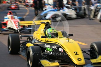 World © Octane Photographic Ltd. Formula 1 - Monaco Formula Renault Eurocup Qualifying. Luis Leeds - Josef Kaufmann Racing. Monaco, Monte Carlo. Friday 26th May 2017. Digital Ref: