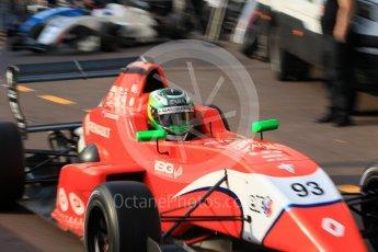 World © Octane Photographic Ltd. Formula 1 - Monaco Formula Renault Eurocup Qualifying. Zane Goddard – Arden. Monaco, Monte Carlo. Friday 26th May 2017. Digital Ref: