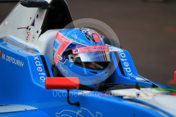 World © Octane Photographic Ltd. Formula 1 - Monaco Formula Renault Eurocup Qualifying. Max Defourny – R-ace GP. Monaco, Monte Carlo. Friday 26th May 2017. Digital Ref: