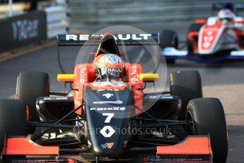 World © Octane Photographic Ltd. Formula 1 - Monaco Formula Renault Eurocup Qualifying. Max Fewtrell – Tech 1 Racing and Alex Peroni – Fortec Motorsports. Monaco, Monte Carlo. Friday 26th May 2017. Digital Ref: