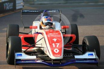 World © Octane Photographic Ltd. Formula 1 - Monaco Formula Renault Eurocup Qualifying. Alex Peroni – Fortec Motorsports. Monaco, Monte Carlo. Friday 26th May 2017. Digital Ref: