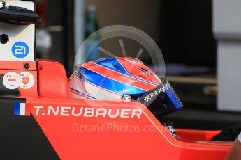 World © Octane Photographic Ltd. Formula 1 - Monaco Formula Renault Eurocup Qualifying. Thomas Neubauer – Tech 1 Racing. Monaco, Monte Carlo. Friday 26th May 2017. Digital Ref: