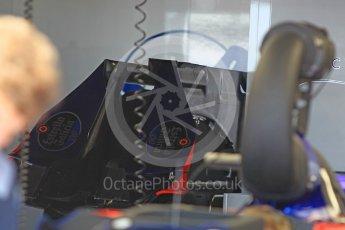 World © Octane Photographic Ltd. Formula 1 - Monaco Grand Prix Setup. Scuderia Toro Rosso STR12 floors. Monaco, Monte Carlo. Wednesday 24th May 2017. Digital Ref: