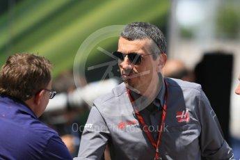 World © Octane Photographic Ltd. Formula 1 - Monaco Grand Prix. Guenther Steiner - Team Principal of Haas F1 Team. Monaco, Monte Carlo. Wednesday 24th May 2017. Digital Ref: