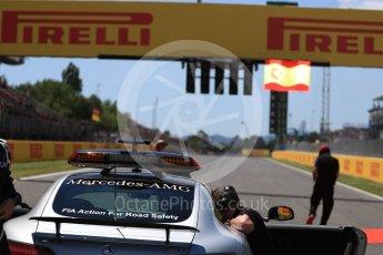 World © Octane Photographic Ltd. Formula 1 - Spanish Grand Prix Grid. Mercedes Benz Safety Car. Circuit de Barcelona - Catalunya, Spain. Sunday 14th May 2017. Digital Ref:1824LB1D3728