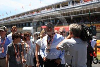 World © Octane Photographic Ltd. Formula 1 - Spanish Grand Prix Grid. Sean Bratches - Liberty Media Commercial Director of F1. Circuit de Barcelona - Catalunya, Spain. Sunday 14th May 2017. Digital Ref:1824LB1D3749