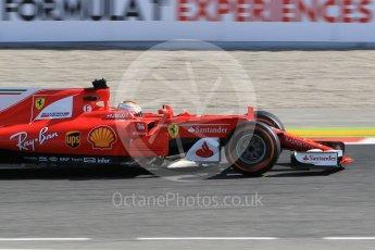 World © Octane Photographic Ltd. Formula 1 - Spanish Grand Prix Practice 1. Sebastian Vettel - Scuderia Ferrari SF70H. Circuit de Barcelona - Catalunya, Spain. Friday 12th May 2017. Digital Ref: 1810CB1L7654