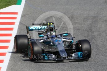 World © Octane Photographic Ltd. Formula 1 - Spanish Grand Prix Practice 1. Valtteri Bottas - Mercedes AMG Petronas F1 W08 EQ Energy+. Circuit de Barcelona - Catalunya, Spain. Friday 12th May 2017. Digital Ref: 1810CB1L7905