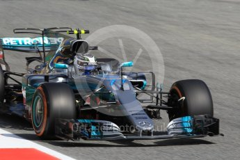 World © Octane Photographic Ltd. Formula 1 - Spanish Grand Prix Practice 1. Valtteri Bottas - Mercedes AMG Petronas F1 W08 EQ Energy+. Circuit de Barcelona - Catalunya, Spain. Friday 12th May 2017. Digital Ref: 1810CB1L7985