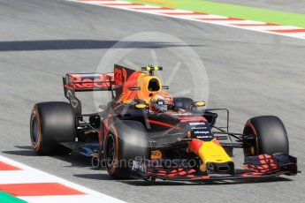World © Octane Photographic Ltd. Formula 1 - Spanish Grand Prix Practice 1. Max Verstappen - Red Bull Racing RB13. Circuit de Barcelona - Catalunya, Spain. Friday 12th May 2017. Digital Ref: 1810CB1L8061