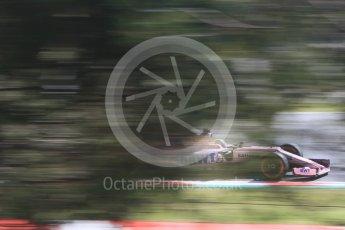 World © Octane Photographic Ltd. Formula 1 - Spanish Grand Prix - Practice 1. Sergio Perez - Sahara Force India VJM10. Circuit de Barcelona - Catalunya. Friday 12th May 2017. Digital Ref: 1810CB7D4102