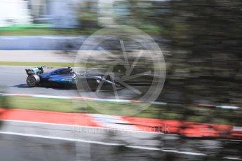 World © Octane Photographic Ltd. Formula 1 - Spanish Grand Prix - Practice 1. Valtteri Bottas - Mercedes AMG Petronas F1 W08 EQ Energy+. Circuit de Barcelona - Catalunya. Friday 12th May 2017. Digital Ref: 1810CB7D4135