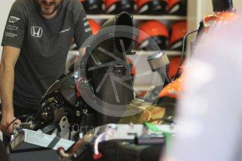 World © Octane Photographic Ltd. Formula 1 - Spanish Grand Prix Practice 1. Fernando Alonso - McLaren Honda MCL32. Circuit de Barcelona - Catalunya, Spain. Friday 12th May 2017. Digital Ref: 1810CB7D4386