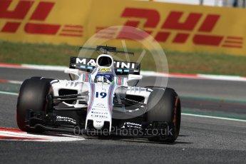 World © Octane Photographic Ltd. Formula 1 - Spanish Grand Prix Practice 1. Felipe Massa - Williams Martini Racing FW40. Circuit de Barcelona - Catalunya, Spain. Friday 12th May 2017. Digital Ref: 1810LB1D9130