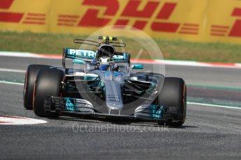 World © Octane Photographic Ltd. Formula 1 - Spanish Grand Prix Practice 1. Valtteri Bottas - Mercedes AMG Petronas F1 W08 EQ Energy+. Circuit de Barcelona - Catalunya, Spain. Friday 12th May 2017. Digital Ref: 1810LB1D9139