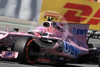 World © Octane Photographic Ltd. Formula 1 - Spanish Grand Prix Practice 1. Esteban Ocon - Sahara Force India VJM10. Circuit de Barcelona - Catalunya, Spain. Friday 12th May 2017. Digital Ref: 1810LB1D9403