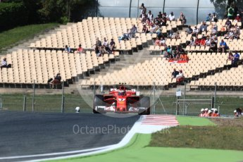 World © Octane Photographic Ltd. Formula 1 - Spanish Grand Prix Practice 1. Kimi Raikkonen - Scuderia Ferrari SF70H. Circuit de Barcelona - Catalunya, Spain. Friday 12th May 2017. Digital Ref: 1810LB1D9445