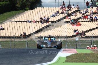 World © Octane Photographic Ltd. Formula 1 - Spanish Grand Prix Practice 1. Lewis Hamilton - Mercedes AMG Petronas F1 W08 EQ Energy+. Circuit de Barcelona - Catalunya, Spain. Friday 12th May 2017. Digital Ref: 1810LB1D9498