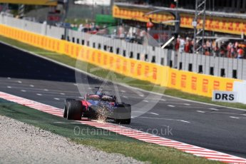 World © Octane Photographic Ltd. Formula 1 - Spanish Grand Prix Practice 1. Daniil Kvyat - Scuderia Toro Rosso STR12. Circuit de Barcelona - Catalunya, Spain. Friday 12th May 2017. Digital Ref: 1810LB1D9633