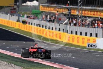World © Octane Photographic Ltd. Formula 1 - Spanish Grand Prix Practice 1. Sebastian Vettel - Scuderia Ferrari SF70H. Circuit de Barcelona - Catalunya, Spain. Friday 12th May 2017. Digital Ref: 1810LB1D9639