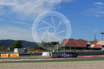 World © Octane Photographic Ltd. Formula 1 - Spanish Grand Prix Practice 1. Marcus Ericsson – Sauber F1 Team C36. Circuit de Barcelona - Catalunya, Spain. Friday 12th May 2017. Digital Ref: 1810LB2D7523
