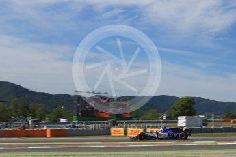 World © Octane Photographic Ltd. Formula 1 - Spanish Grand Prix - Practice 1. Marcus Ericsson – Sauber F1 Team C36. Circuit de Barcelona - Catalunya. Friday 12th May 2017. Digital Ref: 1810LB2D7586