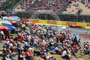 World © Octane Photographic Ltd. Formula 1 - Spanish Grand Prix Race. Sebastian Vettel - Scuderia Ferrari SF70H. Circuit de Barcelona - Catalunya, Spain. Sunday 14th May 2017. Digital Ref: 1825LB1D4158