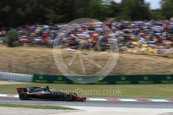 World © Octane Photographic Ltd. Formula 1 - Spanish Grand Prix Race. Romain Grosjean - Haas F1 Team VF-17. Circuit de Barcelona - Catalunya, Spain. Sunday 14th May 2017. Digital Ref:1825LB1D4305