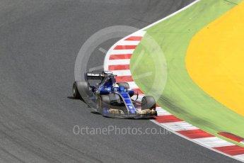 World © Octane Photographic Ltd. Formula 1 - Spanish Grand Prix Race. Marcus Ericsson – Sauber F1 Team C36. Circuit de Barcelona - Catalunya, Spain. Sunday 14th May 2017. Digital Ref:1825LB2D9025