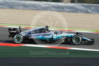 World © Octane Photographic Ltd. Formula 1 winter test 1, Mercedes AMG Petronas F1 W08 EQ Energy+ - Valtteri Bottas. Circuit de Barcelona-Catalunya. Monday 27th February 2017. Digital Ref :1780CB1D2590