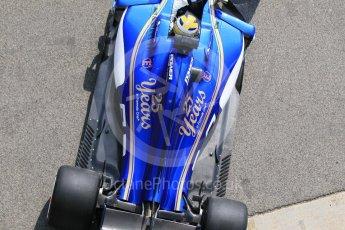 World © Octane Photographic Ltd. Formula 1 - Winter Test 1. Marcus Ericsson - Sauber F1 Team C36. Circuit de Barcelona-Catalunya. Monday 27th February 2017. Digital Ref :1780CB1D2787