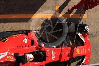 World © Octane Photographic Ltd. Formula 1 - Winter Test 1. Sebastian Vettel - Scuderia Ferrari SF70H. Circuit de Barcelona-Catalunya. Monday 27th February 2017. Digital Ref :1780CB1D2915