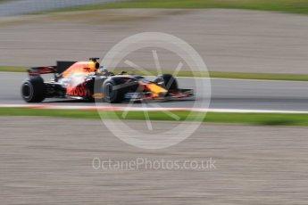 World © Octane Photographic Ltd. Formula 1 - Winter Test 1. Daniel Ricciardo - Red Bull Racing RB13. Circuit de Barcelona-Catalunya. Monday 27th February 2017. Digital Ref :1780CB1D2947