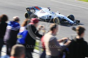 World © Octane Photographic Ltd. Formula 1 - Winter Test 1. Felipe Massa, - Williams Martini Racing FW40. Circuit de Barcelona-Catalunya. Monday 27th February 2017. Digital Ref :1780CB1D3200