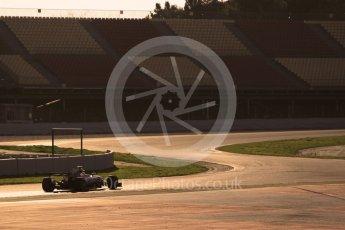 World © Octane Photographic Ltd. Formula 1 - Winter Test 1. Lewis Hamilton - Mercedes AMG Petronas F1 W08 EQ Energy+. Circuit de Barcelona-Catalunya. Monday 27th February 2017. Digital Ref :1780CB1D3361